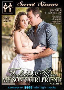 Forbidden Affairs 4: My Son's Girlfriend, starring Jade Nile, Jodi Taylor, Logan Pierce, India Summer, Marcus London, Steven St. Croix and Erik Everhard, produced by Sweet Sinner and Mile High Media.