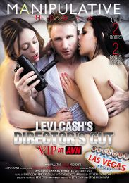 """Featured Studio - Manipulative Media presents the adult entertainment movie """"Levi Cash's Director's Cut: VIP At AVN""""."""