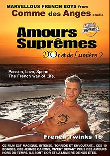 French Twinks 16: Amours Supremes - D'or Et De Lumiere 2, starring Harruel Tahar, Stanislas Delacourt, Tonga Soa Manala, Brahim Assati, Mathis Renard, Vincent Laffite, Ronan Montfort, Florian Gerfault, Heliot Cooper and Leo Helios, produced by Comme Des Anges Studio.