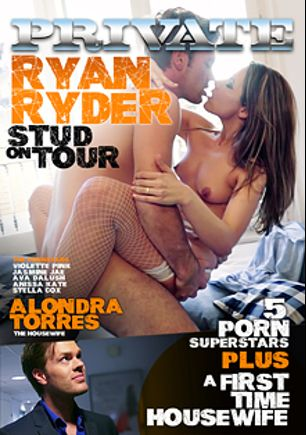 Ryan Ryder - Stud On Tour, starring Jasmine Jae, Alondra Torres, Stella Cox, Violette Pure, Ava Dalush, Anissa Kate and Ryan Ryder, produced by Private Media.