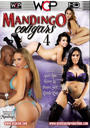 Mandingo Cougars 4, starring Austin Lynn, Phoenix Skye, Kimmy Lee, Richelle Ryan and Mandingo, produced by West Coast Productions and Mandingo.