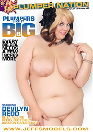 Plumpers Like It Big 6, starring Buxom Bella, Lila Lovely, Becky Butterfly and Eliza Allure, produced by Plumper Nation.