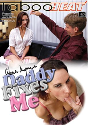 Alora Jaymes In Daddy Fixes Me, starring Alora Jaymes and Luke Longley, produced by Taboo Heat.