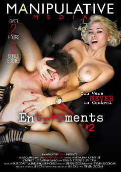 "Adult entertainment movie ""Entrapments 2"" starring Marsha May, Kimber Lee & Tony D.. Produced by Manipulative Media."
