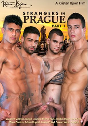 Strangers In Prague, starring Diego Lauzen, Wagner Vittoria, Marco Rubi, Saxon West, Adam Rupert, Radim Hajek, Lukas Pribyl, Milos Zambo and Angelo, produced by Kristen Bjorn Productions.