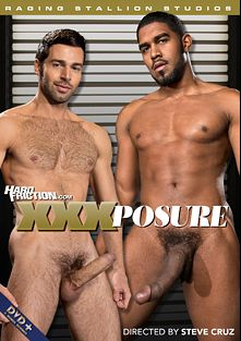 XXXposure, starring Dario Beck, Clark Franco, Theo Ford, Sebastian Kross, Trelino, Adam Ramzi, XL, Hunter Marx and Alexander Greene, produced by Falcon Studios Group, Hard Friction and Raging Stallion Studios.