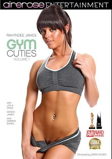 Gym Cuties, starring Rahyndee James, Danica James, Layla Price and Sabrina Banks, produced by Pleasure Productions and Airerose Entertainment.