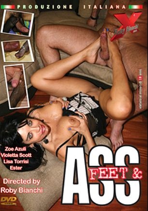 Feet And Ass - RB-02, starring Zoe Azuli, Violetta Scott, Lisa Torrisi and Ester, produced by Topax Films.