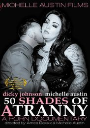 """Just Added presents the adult entertainment movie """"Fifty Shades Of A Tranny""""."""