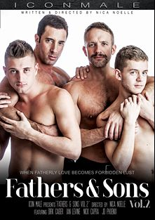 Fathers And Sons 2, starring Ian Levine, J.D. Phoenix, Dirk Caber and Nick Capra, produced by Mile High Media and Iconmale.