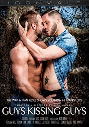 Guys Kissing Guys, starring Dirk Caber, Wolf Hudson, J.D. Phoenix, Connor Maguire, Ty Roderick, Robert Christian and Mike De Marco, produced by Mile High Media and Iconmale.