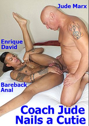 Coach Jude Nails A Cutie, starring Enrique David and Jude Marx, produced by Hot Dicks Video.