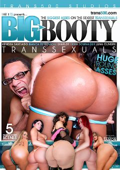 "Adult entertainment movie ""Big Booty Transsexuals"" starring Luna Oliveire, Sharlot & Bianca Petrovicky. Produced by Trans500 Studios."