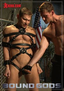 Bound Gods: Officer Alex Adams' Filthy Fantasy, starring Alex Adams and Connor Maguire, produced by KinkMen.