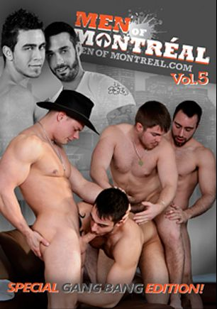 Men Of Montreal 5: Special Gang Bang Edition, starring Max Chevalier, Alec Leduc, Marko Lebeau, Pascal Aubrey, Matthew Cox, Benjamin D'Amour, Felix Brazeau, Ivan Lenko, Archer Quan, Gabriel Lenfant and Alexy Tyler, produced by Men Of Montreal.