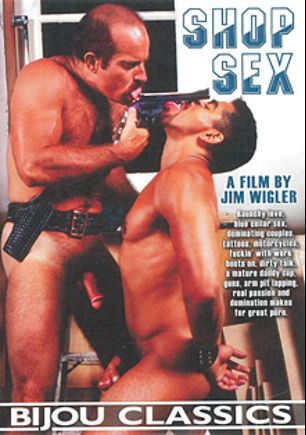 Shop Sex, starring Dylan Rage, Tony Bullit, Joe (m), Marco, Jeffrey Devons and Earl Utah, produced by Bijou Gay Classics.