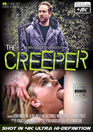 The Creeper, starring Alina West, Alexa Tomas, Nikki Next, Nikki Daniels and Ryan Madison, produced by Kelly Madison Productions, 413 Productions and Porn Fidelity.