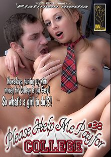 Please Help Me Pay For College 38, starring Billy (f), Starr Reynolds, Amelie Doll and Alexis, produced by Platinum Media.