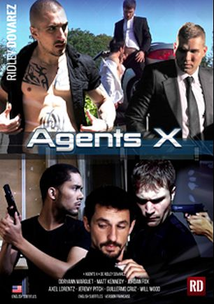 Agents X, starring Jordan Fox, Will Wood, Jeremy Pitch, Axel Lorentz, Doryann Marguet, Guillermo Cruz and Matt Kennedy, produced by RidleyDovarez.