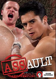 ASSault, starring David Benjamin, Brian Bonds, Krave Moore, Armond Rizzo and Christian Lesage, produced by Club Inferno, Hot House Entertainment and Falcon Studios Group.
