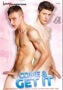 Come And Get It, starring Liam, Linus, Florian, Luca, Thomas, Jonas, Noah, Lukas, Julian and Sebastian, produced by Vimpex Gay Media and Lucky Youngsters.