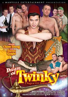 I Dream Of Twinky: A Magical XXX Fantasy, starring Blake Dawson, Alex Cross, Chase Young, Brody Wilde, Justin Dean, Tristan Mathews, Trevor Knight and Doug Jeffries, produced by Pleasure Productions and Manville Entertainment.