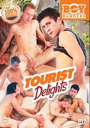 Tourist Delights, starring James Cooper, Luca Roza, Kristopher Tierie, Brant Shy, Luke Besson, Dave Graham, Martin Corvin, Tom Smith, Jeff White, Nikandro Sideropulos, Peter Kyck, Milan Breeze, Luke Taylor and Junior Wilde, produced by Bareback Boy Bangers.