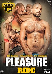 Pleasure Ride, starring Kidd Barraca, Max Carioca, Billy Baval, Manuel Rokko, Ger Rodriguez and Miguel Fresno, produced by Men 1st.