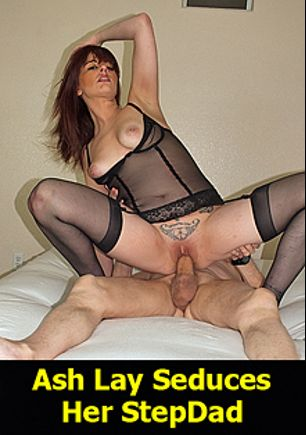 Ash Lay Seduces Her Stepdad, starring Ash Lay and Carl Hubay, produced by Hot Clits Video.