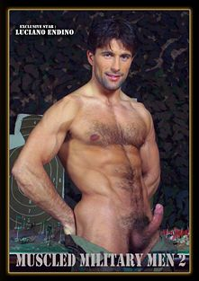 Muscled Military Men 2, starring Luciano Endiano and Rick Perry, produced by Diamond Pictures.