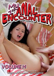 "Featured Category - Anal presents the adult entertainment movie ""My 1st Anal Encounter 14""."