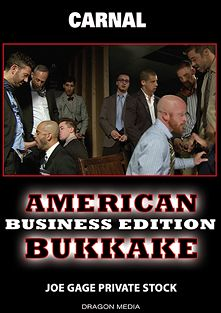 American Bukkake: Business Edition, produced by Dragon Media.