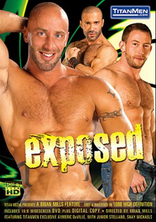 Exposed, starring Aymeric Deville, Amir Roddero, Jeremy Tyler, Shay Michaels, Enzo Rimenez, Roman Wright and Junior Stellano, produced by Titan Media.
