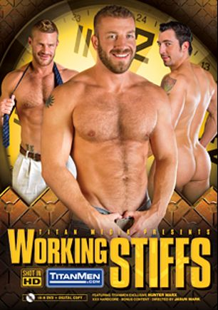 Working Stiffs, starring Jimmy Durano, Landon Conrad, Justin Beal, Hunter Marx, Adam Russo and Thomas, produced by Titan Media.