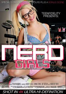 Nerd Girls, starring Aubrey Gold, Kimberly Brix, Emma Evans, Jay Taylor (f) and Ryan Madison, produced by Kelly Madison Productions, 413 Productions and Teen Fidelity.