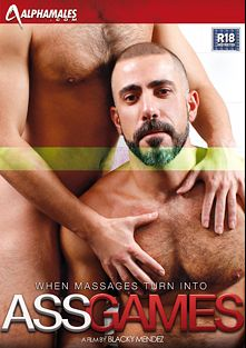 Ass Games, starring Brent Taylor, Bruno Fox, Jonny Kingdom, J.P. Richards, Michel Rudin, Dolan Wolf and Scott Hunter, produced by Alphamales Studio and Eurocreme Group.