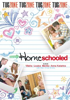 "Adult entertainment movie ""Homeschooled"" starring Anna Katarina, Violet Moon & Louisa. Produced by Tug Zone."