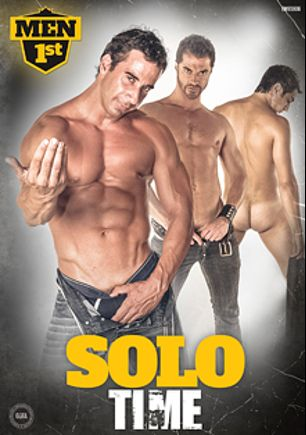 Solo Time, starring Andy, Nacho, Carlos Caballero, Paco Polo, Armando, Marcos, Javier and Eduardo, produced by Men 1st.