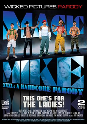 Magic Mike XXXL: A Hardcore Parody, starring Derrick Pierce, Katrina Jade, Rob Piper, Adriana Chechik, Jessa Rhodes, Kendra Lust, Amirah Adara, Maddy O'Reilly, Ryan McLane, Seth Gamble, Ryan Driller, Bridgette B., Asa Akira, Dick Chibbles, Misty Stone, India Summer, Tommy Gunn, Tony Martinez and Jessica Drake, produced by Wicked Pictures.