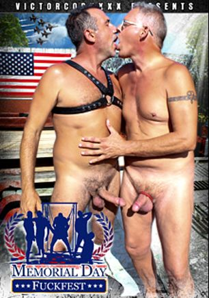 Memorial Day Fuckfest, starring Travis Woods, Jake Edwards, Victor Cody, Clark Kent and Devin, produced by CJXXX and VictorCodyXXX.