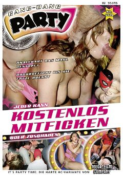 "Adult entertainment movie ""Gang-Bang Party: Knallhart Das Maul Gestopft"". Produced by MEGA-FILM."