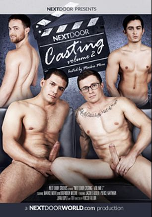 Next Door Casting 2, starring Jacob Ladder, Pierce Hartman, Juan Lopez and Brandon Moore, produced by Next Door Casting.