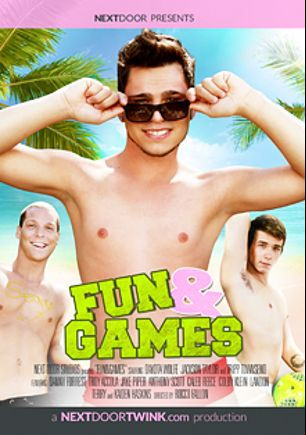 Fun And Games, starring Kaiden Haskins, Troy Accola, Danny Forest, Tony Spice, Nick B., Jake Piper, Caleb Reece, Colby Klein, Dakota Wolfe, Tripp Townsend, Landon Terry, Jackson Taylor, Anthony Scott and Jacob, produced by Next Door Twink.