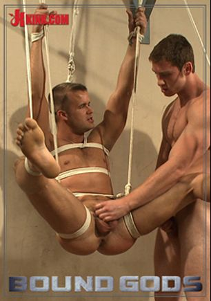 Bound Gods: Gym Pervert Beaten Down And Fucked Into Submission, starring Connor Patricks and Connor Maguire, produced by KinkMen.
