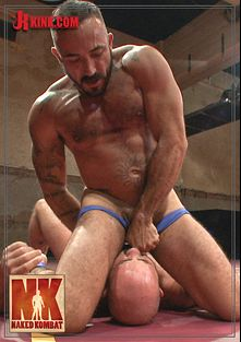 Naked Kombat: 3 Matches In 1 - 6 Smoking Hot Hunks Fight For Total Sexual Domination, starring Rogue Status, Alessio Romero, Jaxton Wheeler, Ray Han, Joey Rico and Joey Carter, produced by KinkMen.