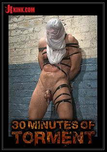 30 Minutes Of Torment: Alex Adams Endures The Cock, Balls And Ass Torment, starring Alex Adams and Van Darkholme, produced by KinkMen.