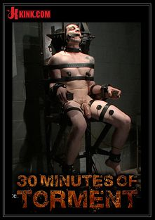 30 Minutes Of Torment: Stud With A 10 Inch Fat Cock Gets Torment To The Extreme, starring Jay, produced by KinkMen.