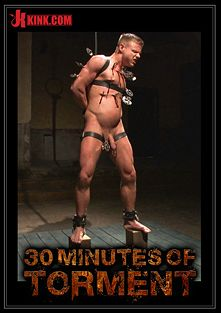 30 Minutes Of Torment: Joseph Rough - The Stud Can Really Take It, starring Joseph Rough, produced by KinkMen.