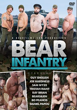 Bear Infantry, starring Bo Francis, Daniel Papou, Bearsilien, Ray Brian, Sam Wyze, Joe Hardness, Guy English and Tristan Riant, produced by Bear Films.