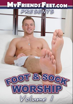 Foot And Sock Worship, starring Luke Milan, Michael Fitt, Cameron Kincade and Ricky Larkin, produced by My Friends Feet and PornPlays.
